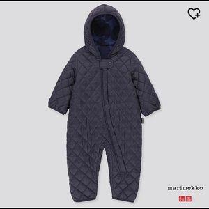 NWT Uniqlo Marimekko Limited Edition snow suit